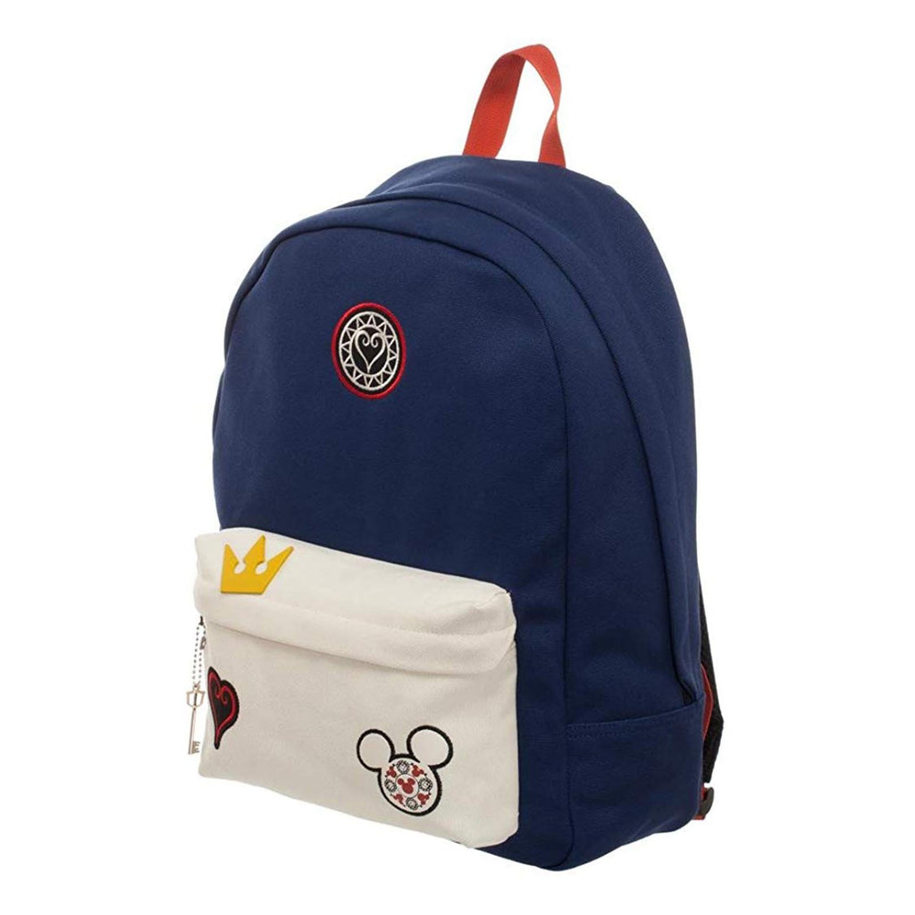 Kingdom Hearts Navy Patch Backpack