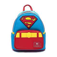 Backpack - Loungefly DC Comics Superman Cosplay Vintage Style Mini Backpack