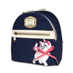Backpack - Loungefly Disney Aristocats Marie Denim Mini Backpack