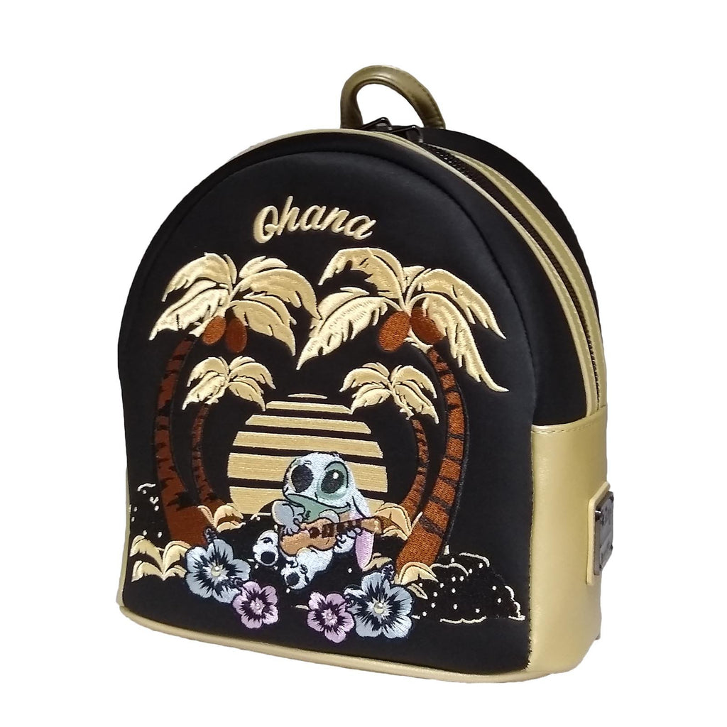 Loungefly Disney Stitch Ohana Scene Mini Backpack