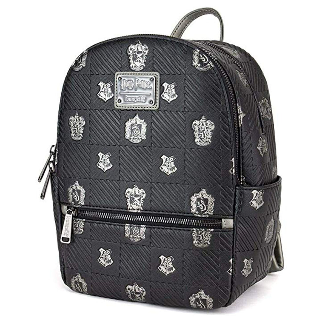 Loungefly Harry Potter Hogwarts Crests Mini Backpack