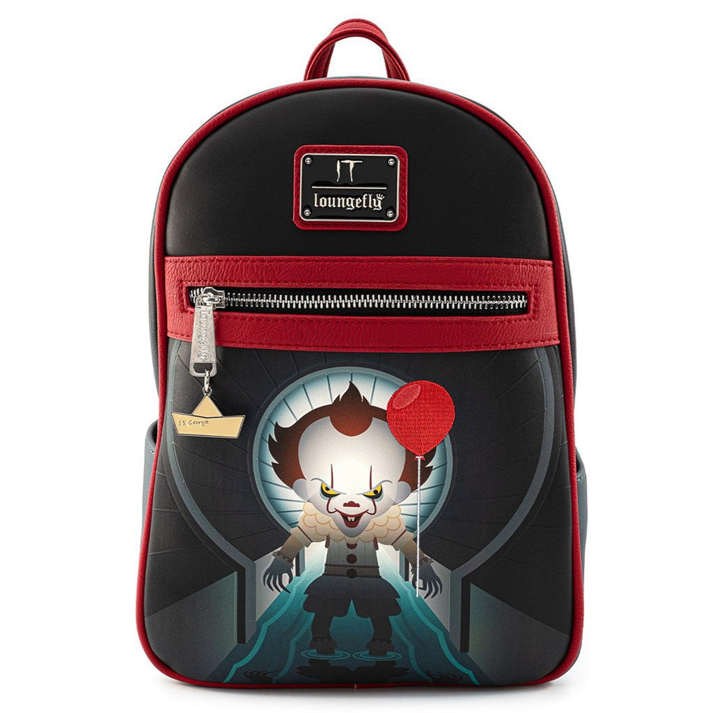 Loungefly IT Pennywise You'll Float Too Mini Backpack