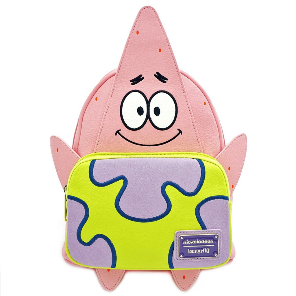 Loungefly Spongebob Patrick 20th Anniversary Mini Backpack
