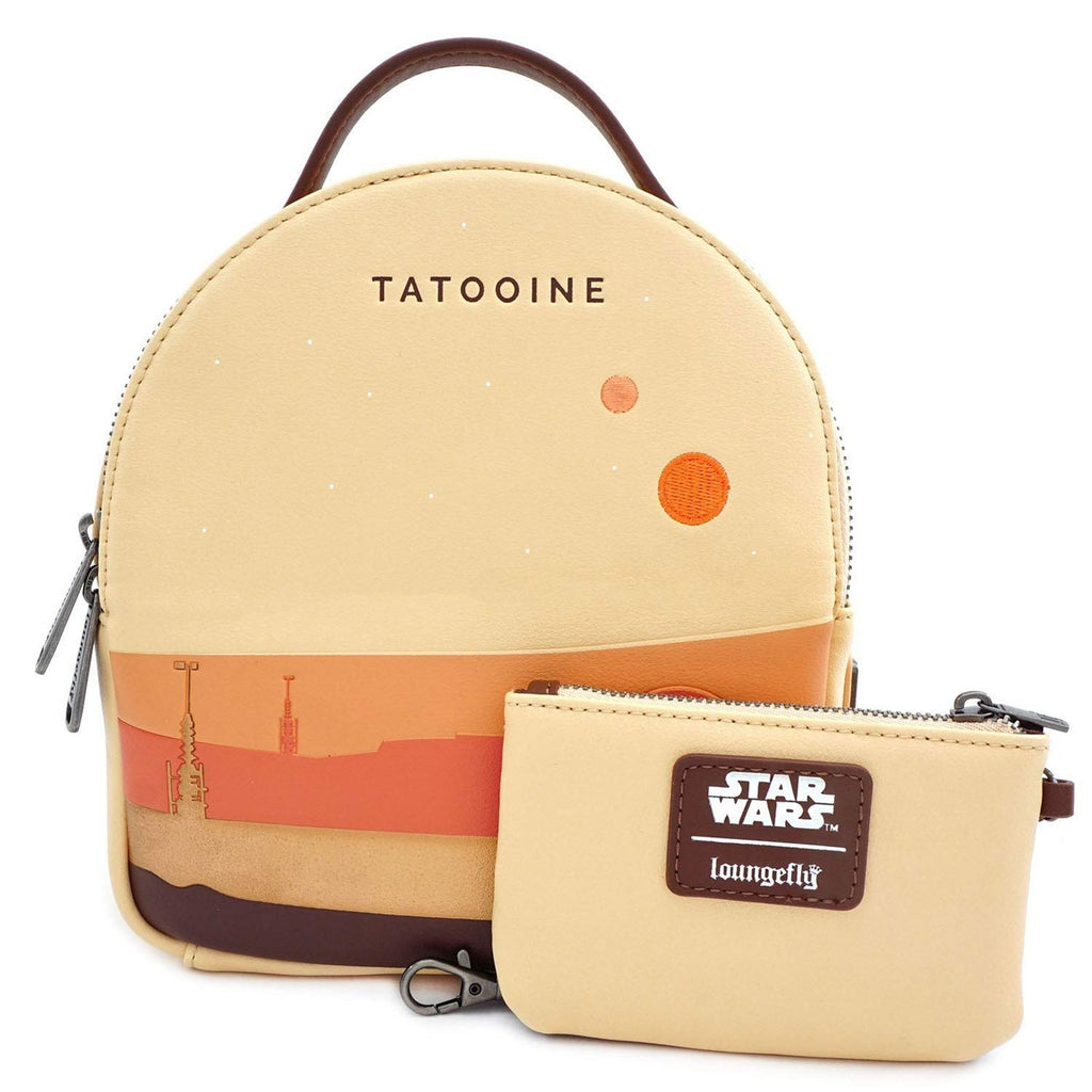 Loungefly Star Wars Tatooine Convertible Backpack Set
