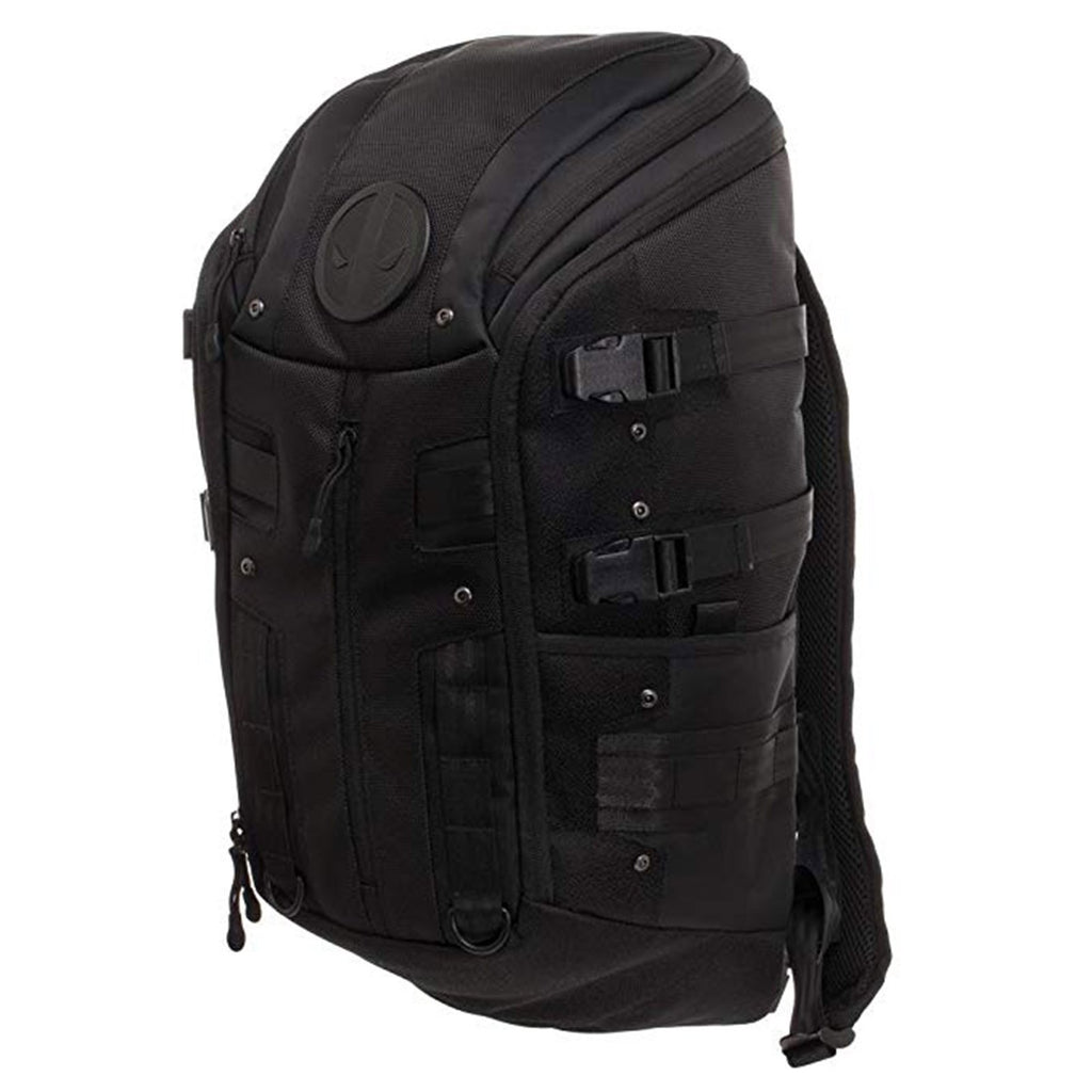 Marvel Deadpool Black Tactical Backpack