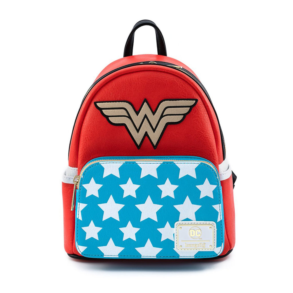 Loungefly DC Comics Vintage Wonder Woman Cosplay Mini Backpack