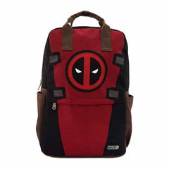 Backpacks - Loungefly Deadpool Cosplay Square Nylon Backpack