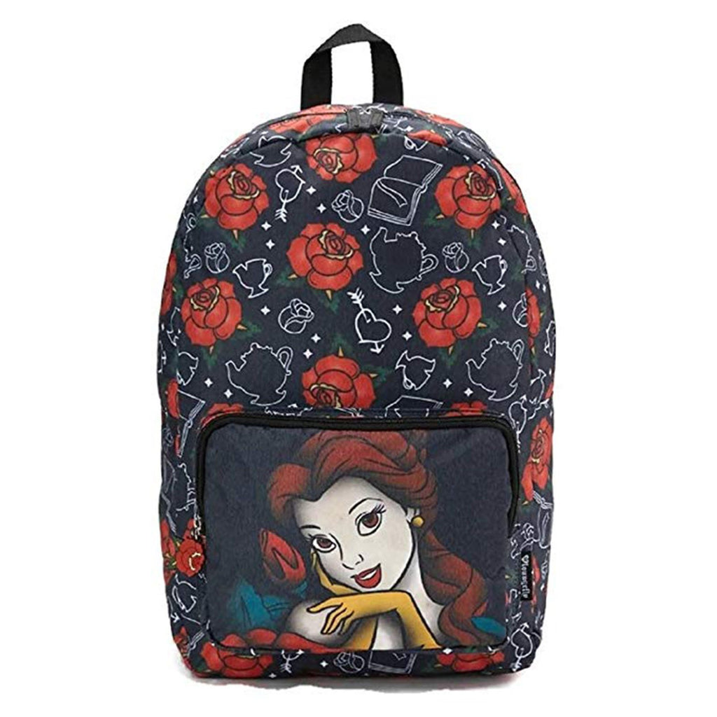 Loungefly Disney Beauty And The Beast Belle Roses Backpack