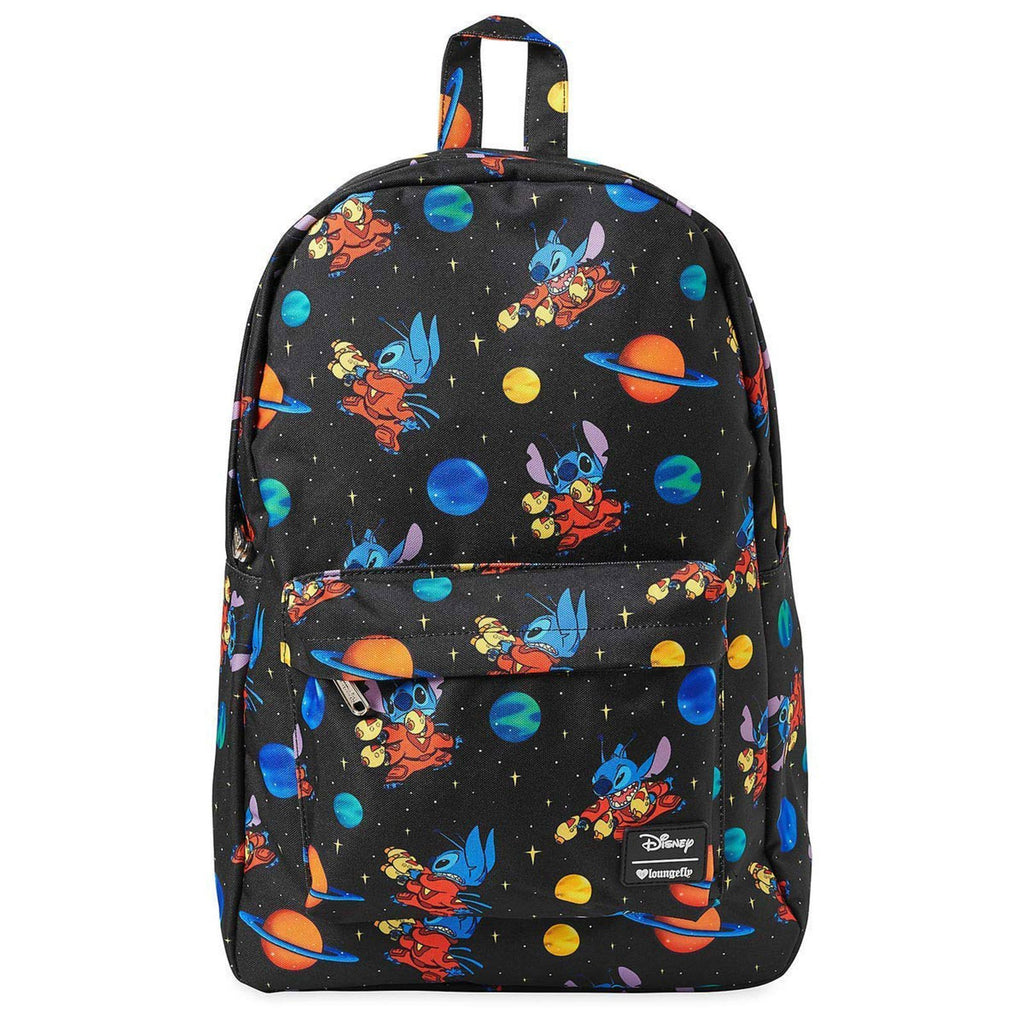 Loungefly Disney Lilo And Stitch Space All Over Print Backpack
