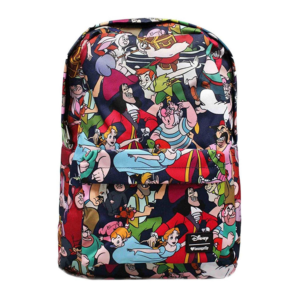 Loungefly Disney Peter Pan Characters All Over Backpack