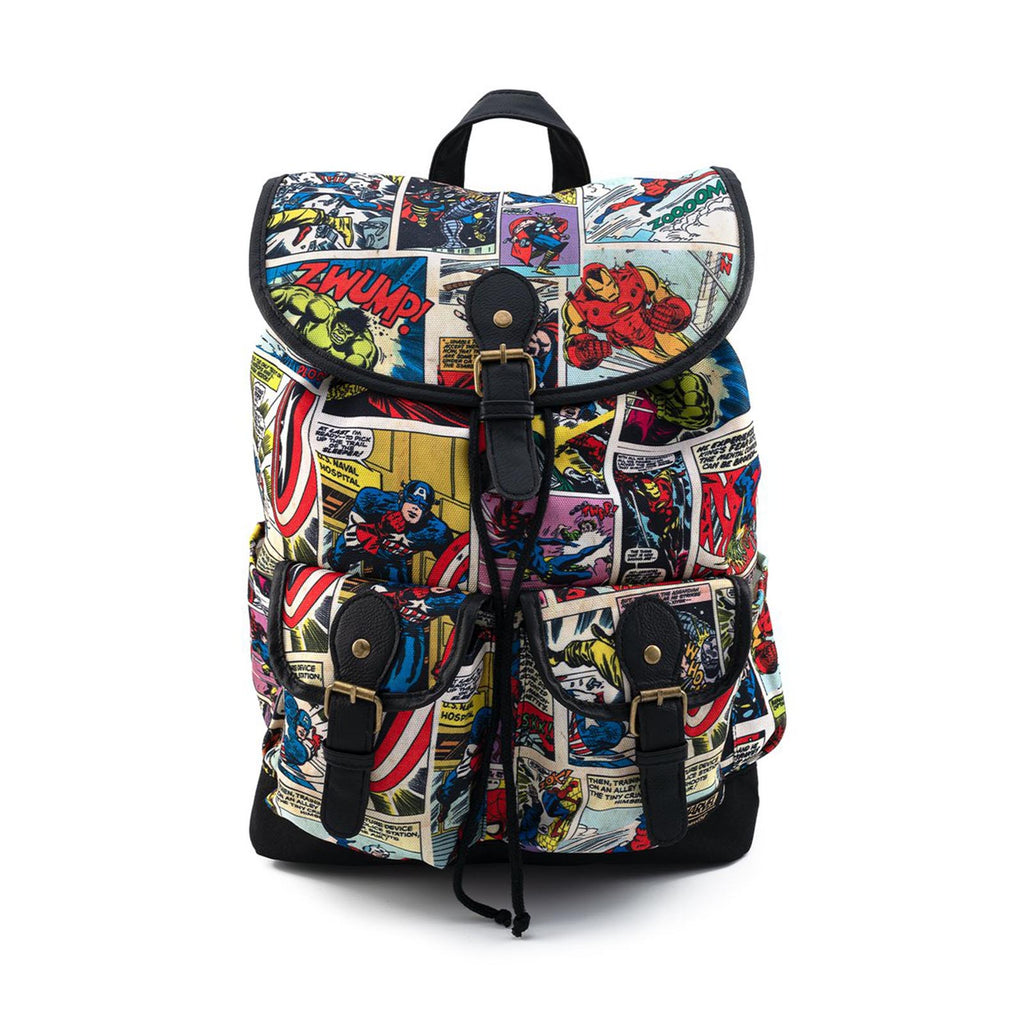 Loungefly Marvel Comic Panels Slouch Backpack