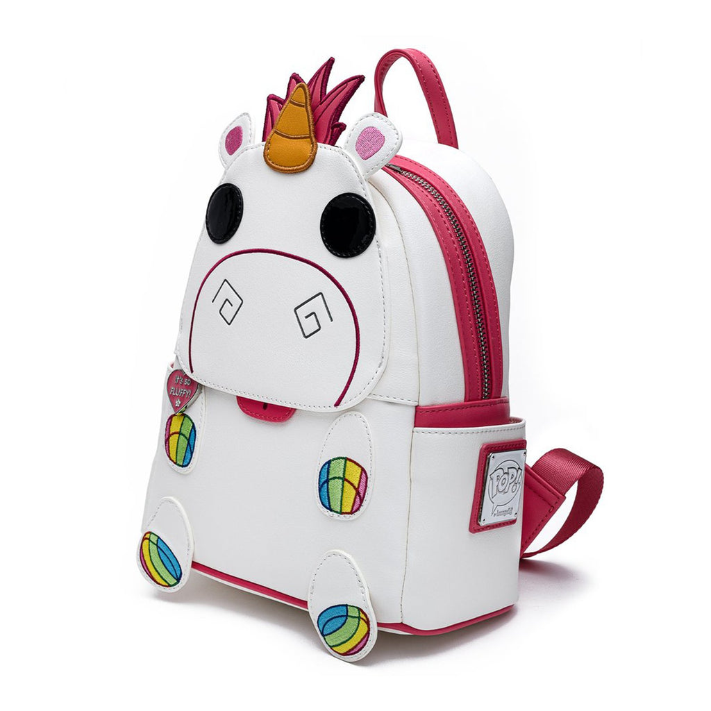 Loungefly Minions POP Fluffy Unicorn Cosplay Mini Backpack