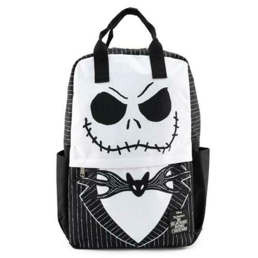 Loungefly Nightmare Before Christmas Jack Skellington Cosplay Nylon Backpack