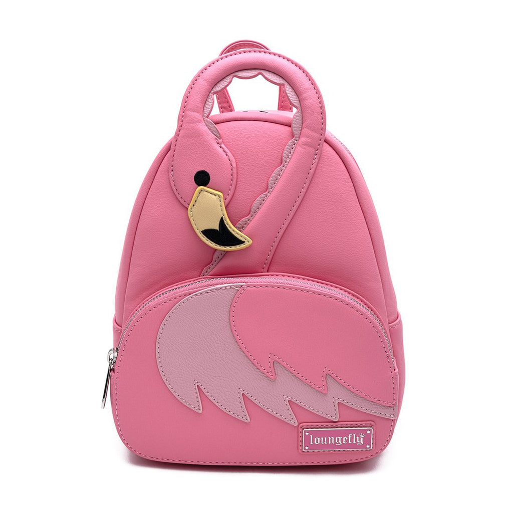 Loungefly Pool Party Pink Flamingo Mini Backpack