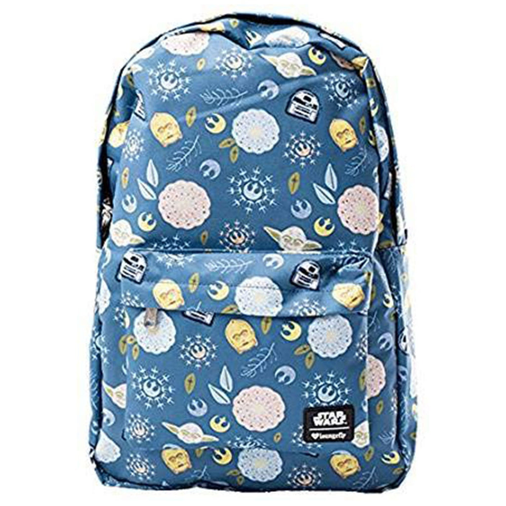 Loungefly Star Wars Bloom Characters All Over Backpack