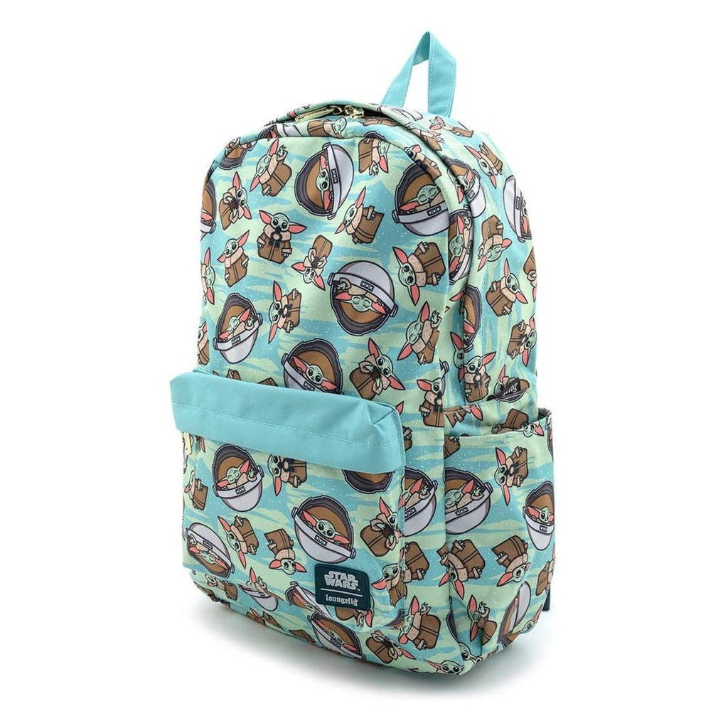 Loungefly Star Wars The Child All Over Print Nylon Backpack