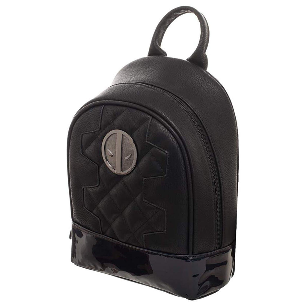 Marvel Deadpool Superhero Black Mini Backpack