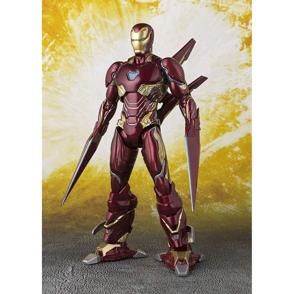 Bandai Avengers Infinity War Iron man MK50 Nano-Weapon Figuarts Action Figure