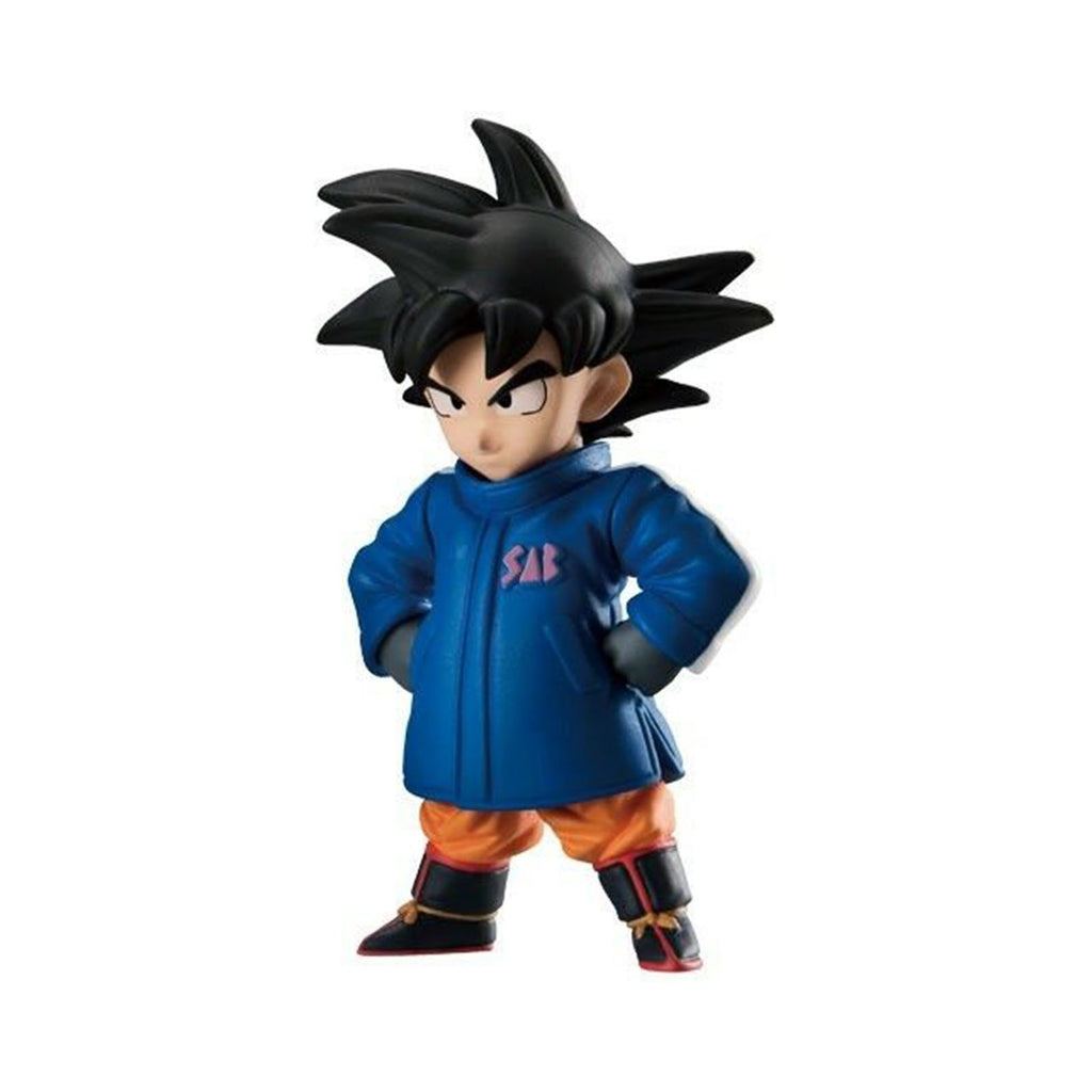 Bandai Dragon Ball Adverge 9 Movie Special SSG Goku In Coat Figure