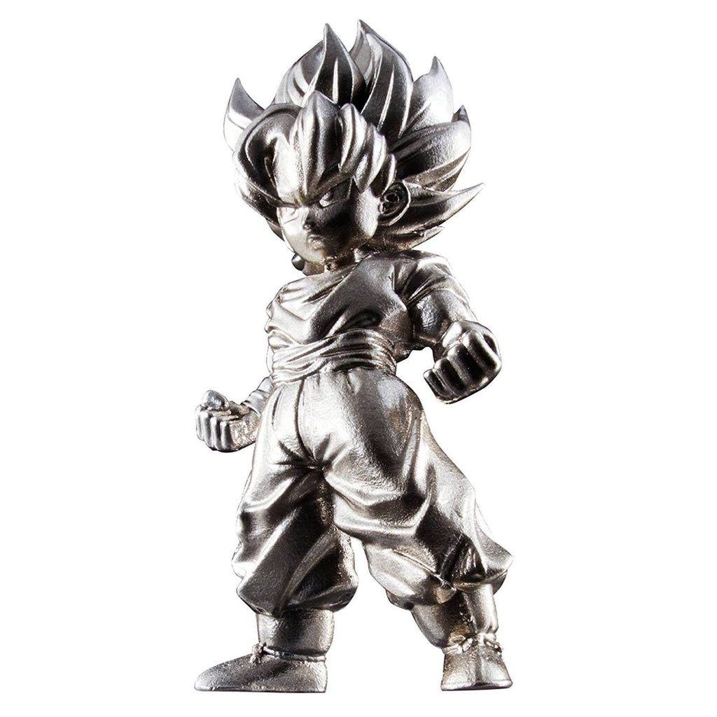 Bandai Dragon Ball Z Chogokin Super Saiyan Goku Metal Mini Figure