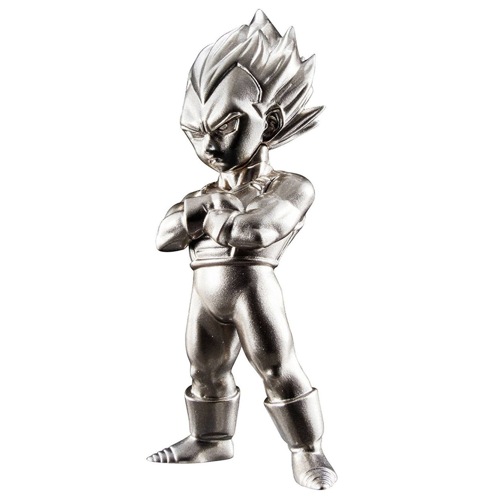 Bandai Dragon Ball Z Chogokin Super Saiyan Vegeta Metal Mini Figure