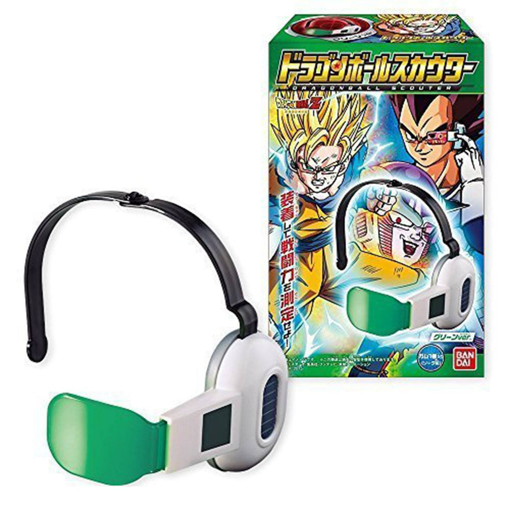 Bandai Dragon Ball Z Saiyan Scouter Green Lens