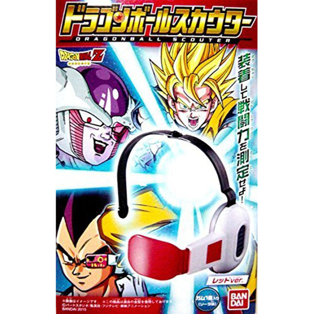 Bandai Dragon Ball Z Saiyan Scouter Red Lens