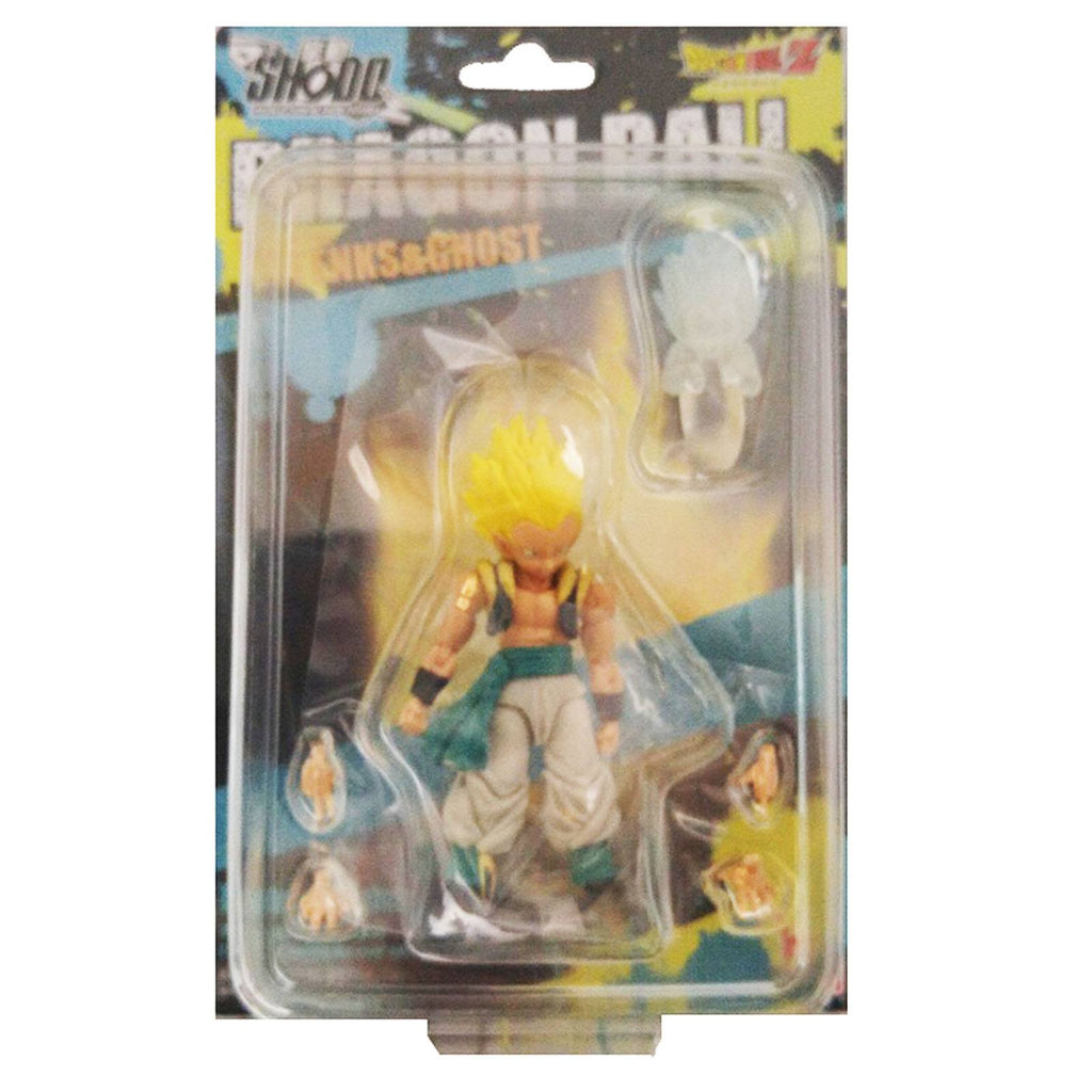 Bandai Dragon Ball Z Shodo Super Saiyan Gotenks And Ghost Action Figure
