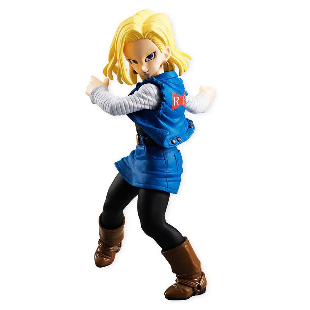 Bandai Action Figures - Bandai Dragon Ball Z Styling Android 18 Action Figure