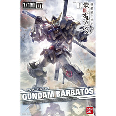 Bandai Action Figures - Bandai Iron Blooded Orphans Gundam Barbatos 1/100 Model Kit