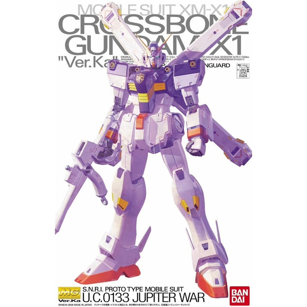 Bandai MG Crossbone Gundam X1 Jupiter War Ver.Ka Model Kit