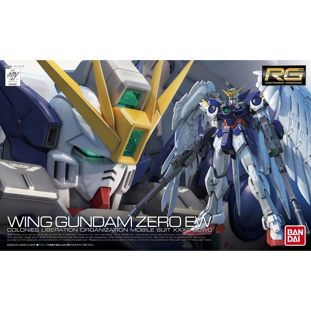 Bandai RG Endless Waltz Wing Gundam Zero Model Kit