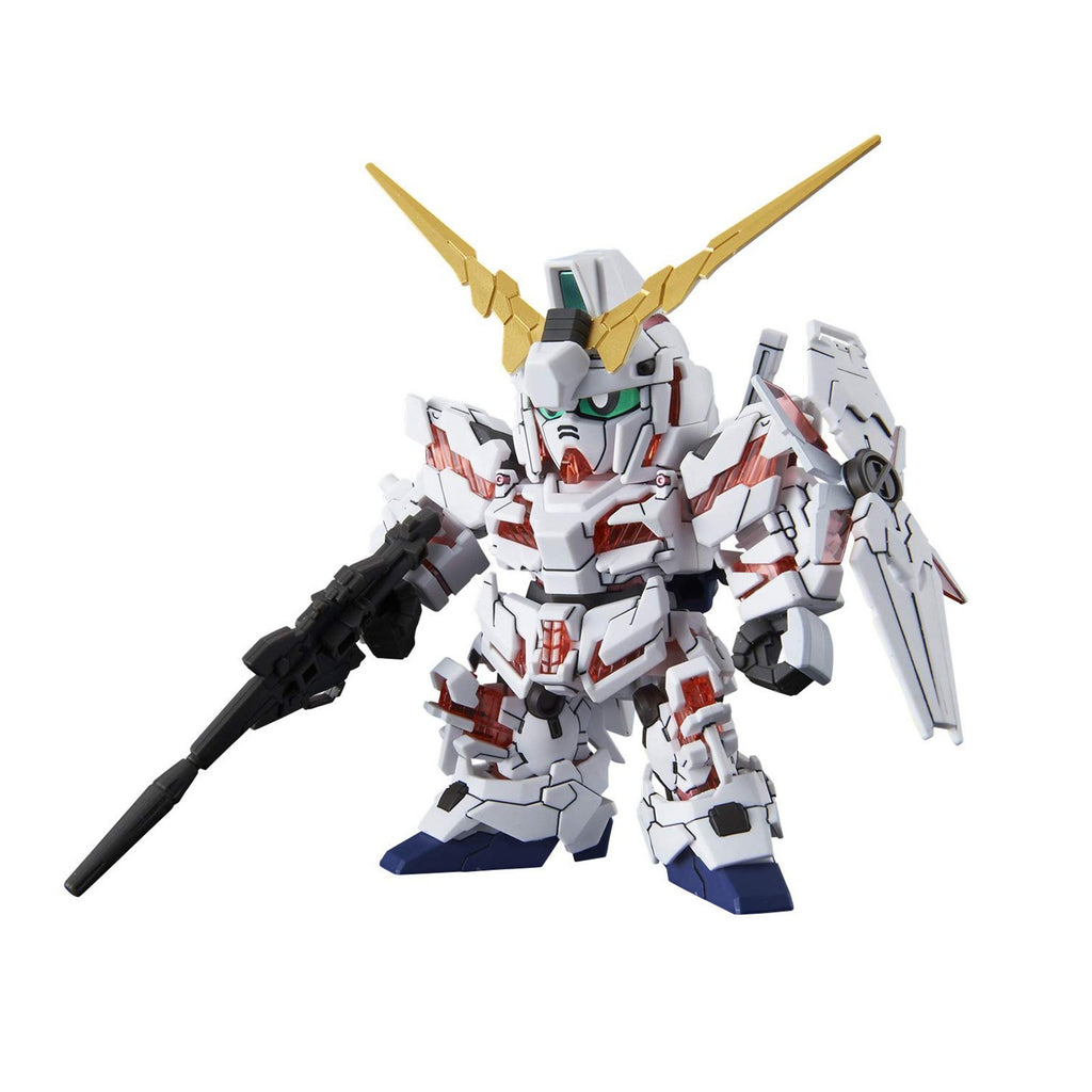 Bandai SD Gundam CS Unicorn Gundam Destroy Mode Model Kit