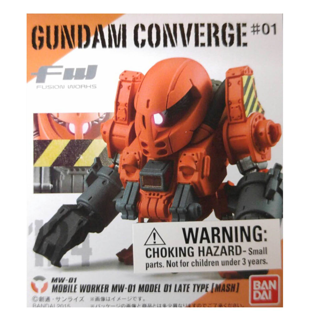 Gundam Converge Fusion Works MW-01 Late Type Mash Mini Figure