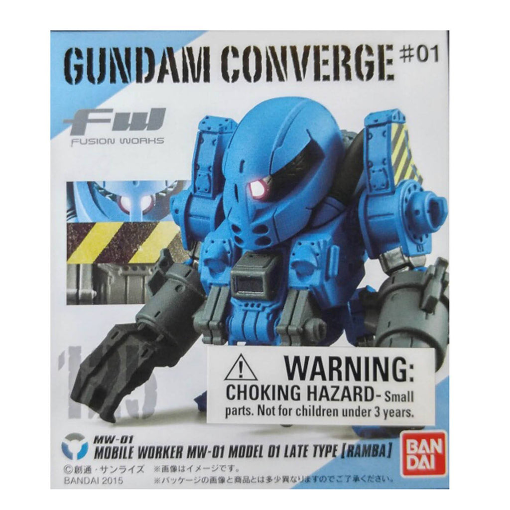 Gundam Converge Fusion Works MW-01 Late Type Ramba Mini Figure - Radar Toys