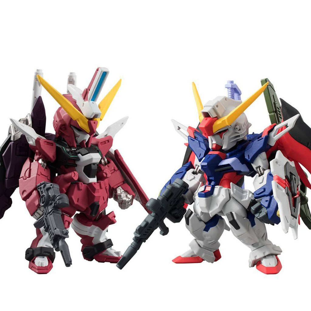 Gundam Converge SP08 Destiny And Justice Gundam Mini Figures