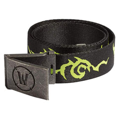 Belts And Buckles - World Of Warcraft Legion Logo Belt Small-Medium