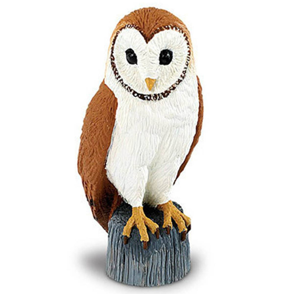 Barn Owl Wings of the World Birds Figure Safari Ltd