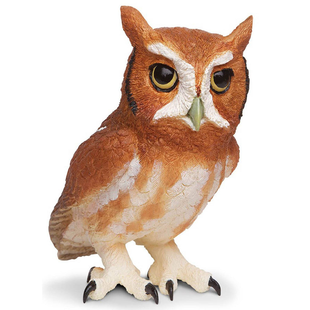 Eastern Screech Owl Incredible Creatures Figure Safari Ltd