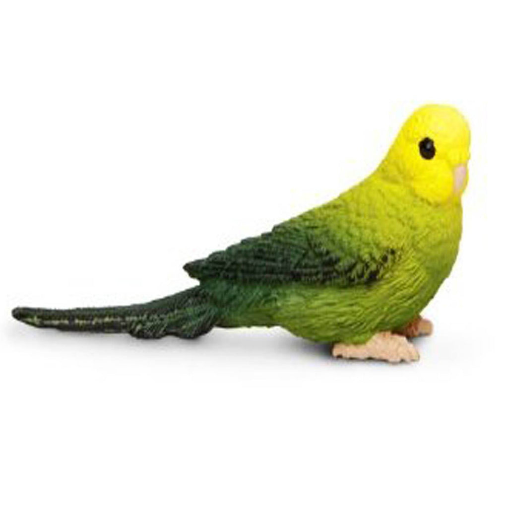 Green Budgie Wings Of The World Figure Safari Ltd