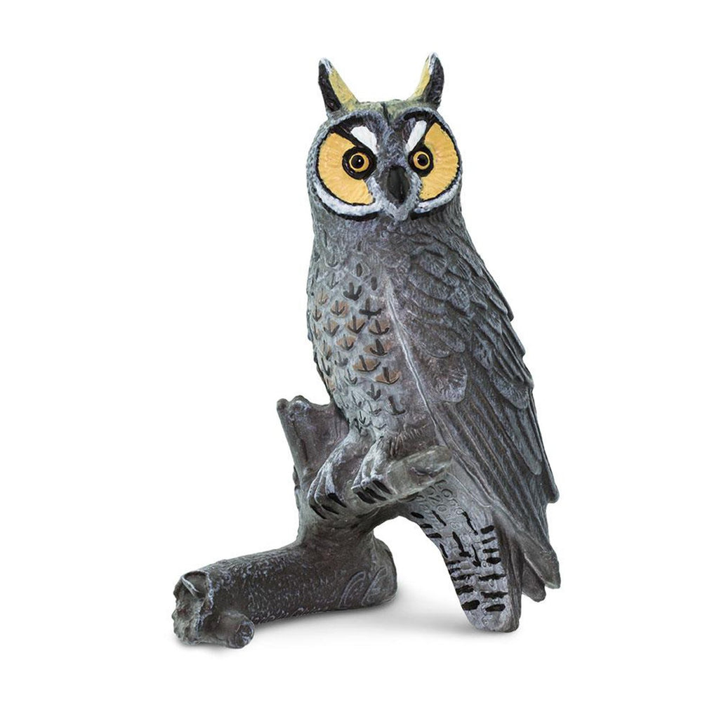 Long Eared Owl Animal Figure Safari Ltd 100093
