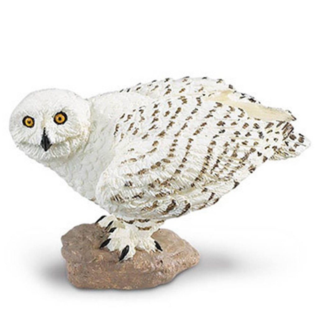Snowy Owl Wings of the World Birds Figure Safari Ltd
