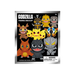 Blind Bag - Godzilla Classic Series 1 Blind Bag Mini Clip Figure