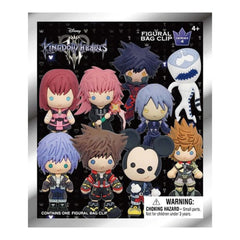 Kingdom Hearts Series 4 Blind Bag Mini Clip Figure