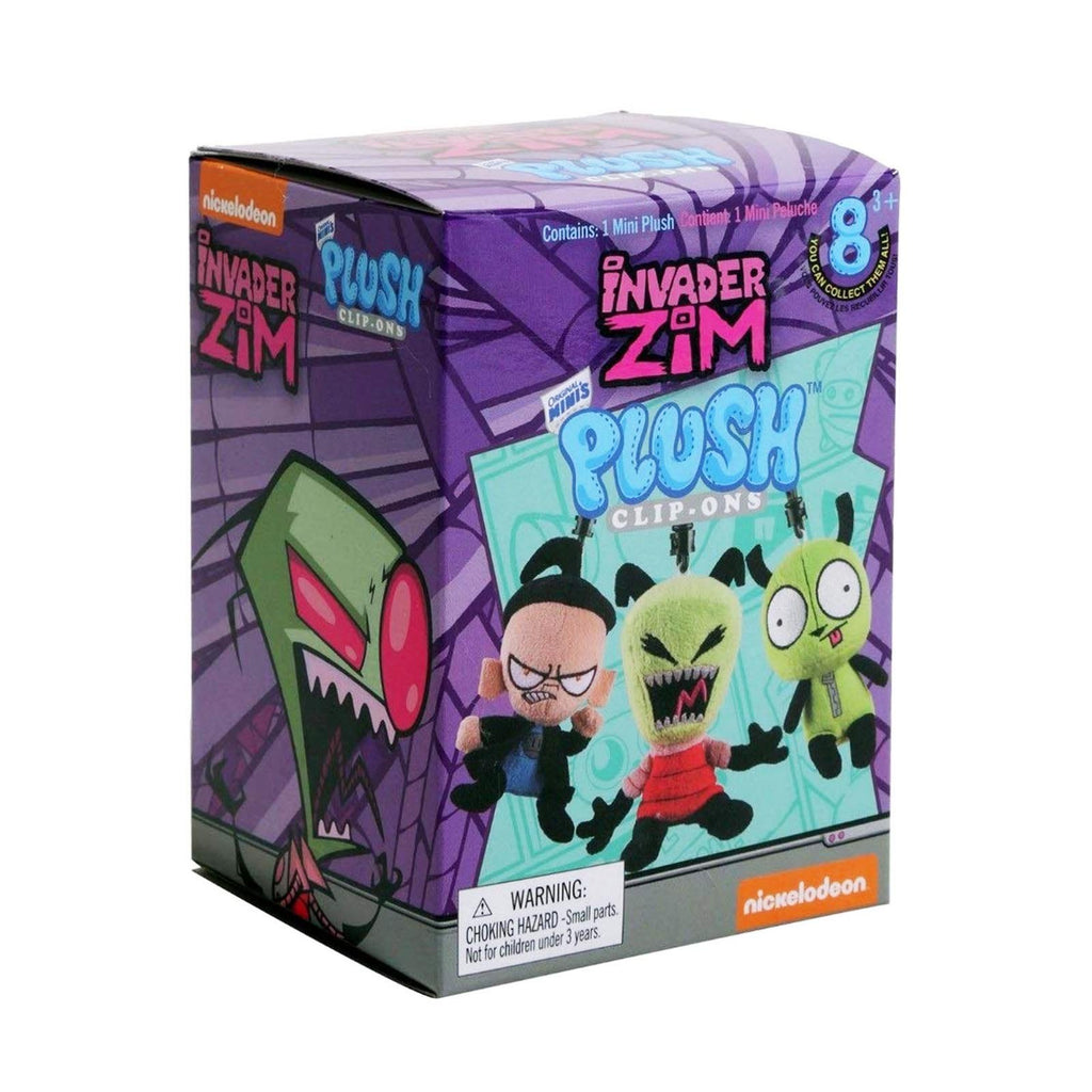 Invader Zim Blind Box Mini Plush Clip Figure