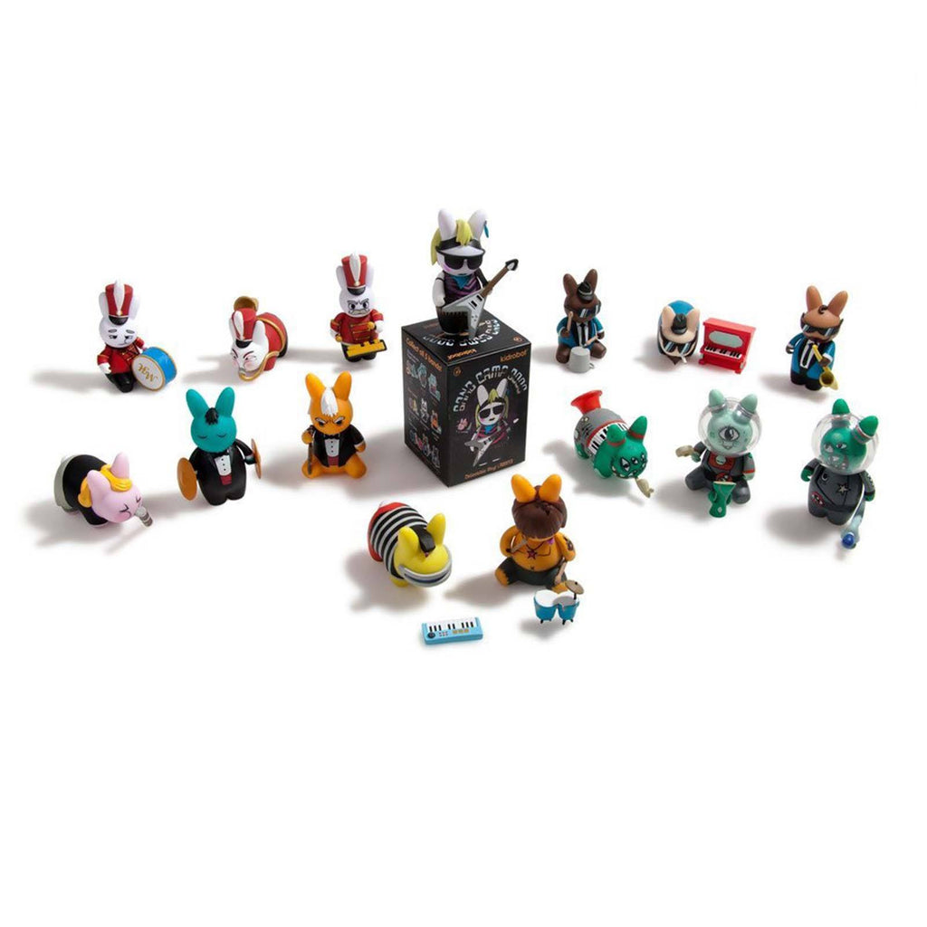 Blind Boxed Mystery Figures - Kidrobot Band Camp 3000 Blind Box Labbit Vinyl Figure