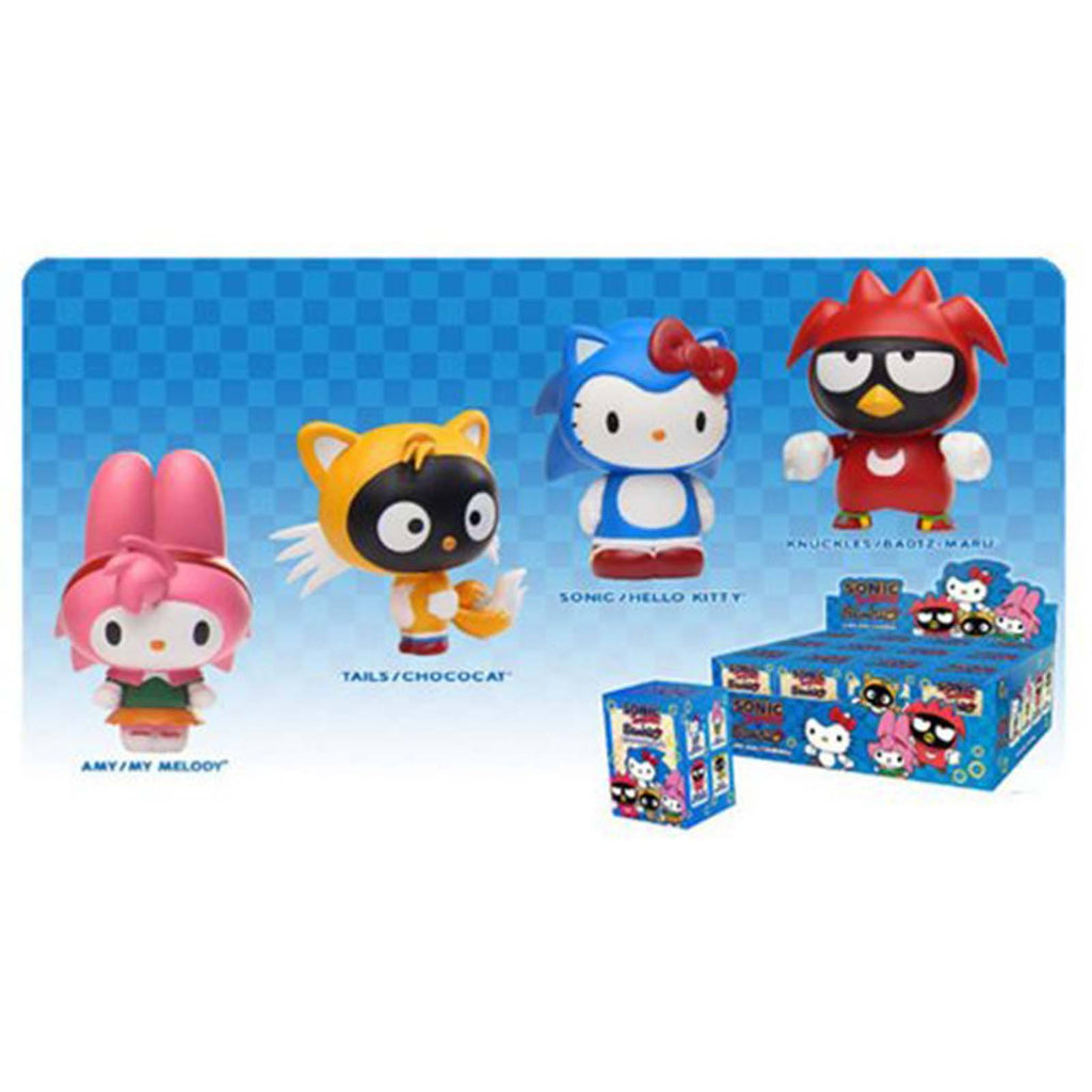 Blind Boxed Mystery Figures - Sonic The Hedgehog Sanrio Blind Box Figure