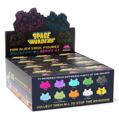 Space Invaders Series 1 Mini Aliens Blind Box Vinyl Figure - Radar Toys