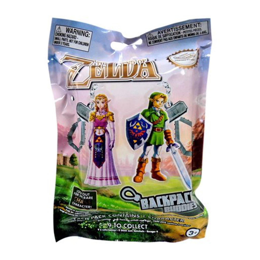 Zelda Laser Cut Blind Bag Backpack Buddies Keychain Figure