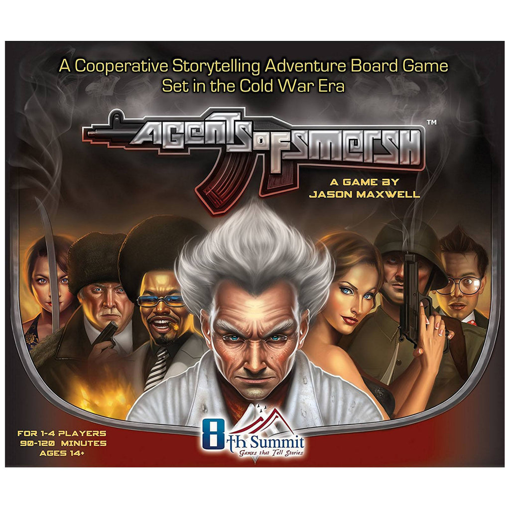 Agents Of Smersh The Board Game